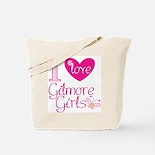 Funny I love Tote Bag