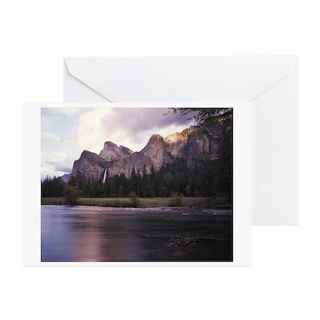 Bridalveil Fall & Merced River, Yosemite Greet