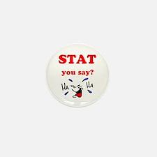 Cute Stats Mini Button (10 pack)