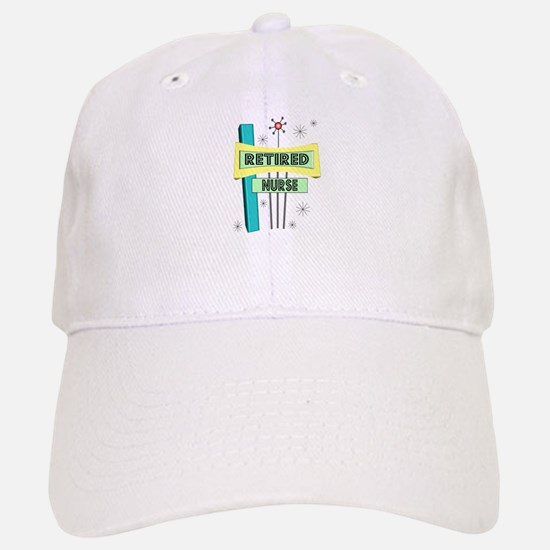 RETIREMENT Baseball Baseball Cap
