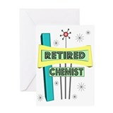 Chemist retirement Greeting Cards