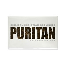 Puritan Godliness (Rectangle Magnet)