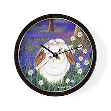 Horatio Lop Rabbit Wall Clock