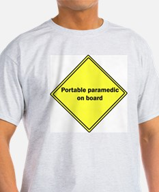 Portable Paramedic Ash Grey T-Shirt