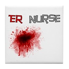 cardiac nurse Tile Coaster