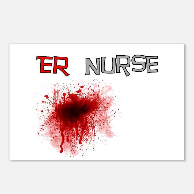 cardiac nurse Postcards (Package of 8)