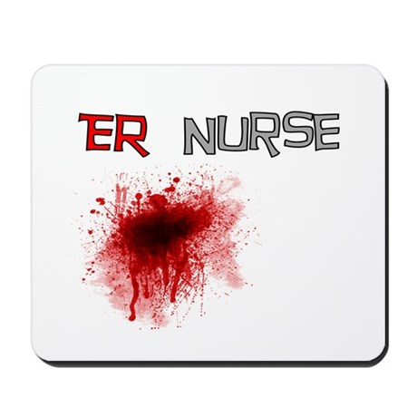 cardiac nurse Mousepad