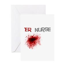 cardiac nurse Greeting Card