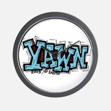 Yawn Wall Clock
