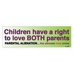 LoveBoth/Sign Bumper Sticker