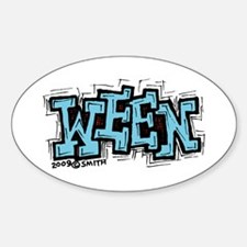 Ween Sticker (Oval)