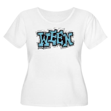 Ween Women's Plus Size Scoop Neck T-Shirt