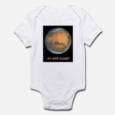 my home planet Infant Bodysuit