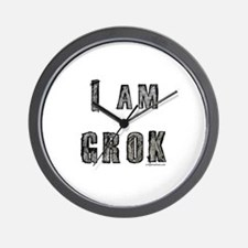 I am Grok Wall Clock