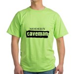 Modern caveman, paleo Green T-Shirt