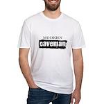 Modern caveman, paleo Fitted T-Shirt