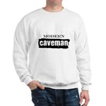 Modern caveman, paleo Sweatshirt