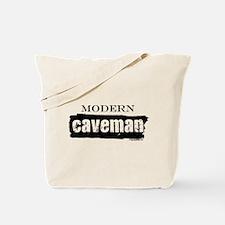 Modern caveman, paleo Tote Bag