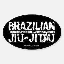 Jiu Jitsu Decal