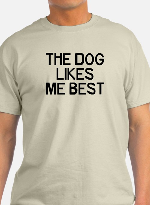 The Dog Likes T-Shirt