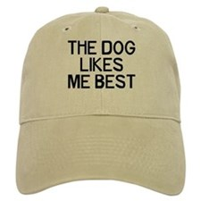 The Dog Likes Baseball Cap