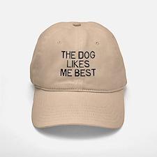 The Dogs Like Baseball Baseball Cap