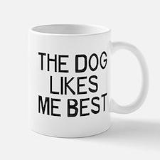 The Dog Likes Small Small Mug