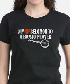 My Heart Banjo Player Tee
