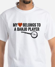 My Heart Banjo Player Shirt
