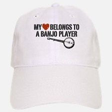 My Heart Banjo Player Baseball Baseball Cap