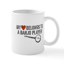 My Heart Banjo Player Mug