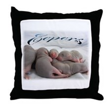 Eepers Throw Pillow