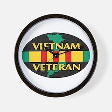 Vietnam Veteran Wall Clock