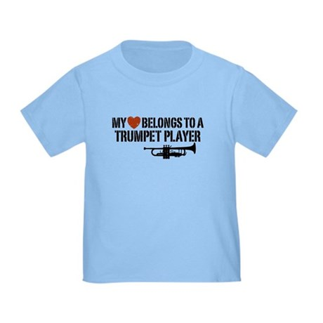 My Heart Trumpet Player Toddler T-Shirt
