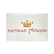 Mexican Princess Rectangle Magnet