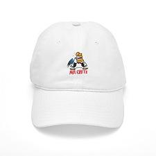 Mr. Chitz - White Baseball Cap