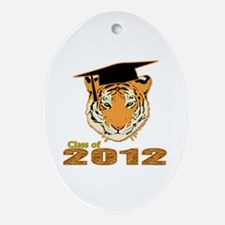 Class of 2012 Tigers Ornament (Oval)