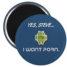 Yes, Steve... I Want Porn Magnet