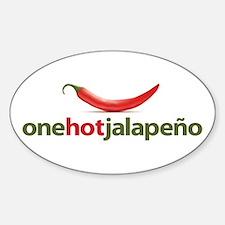 Hot Jalapeno Decal