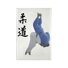 Ippon Throw Rectangle Magnet