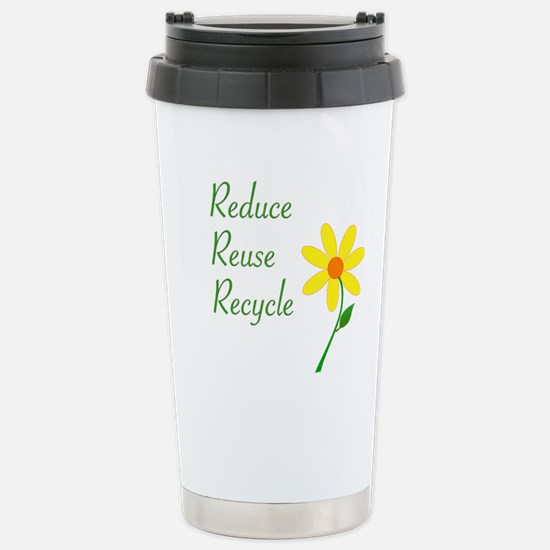 3 R's Stainless Steel Travel Mug