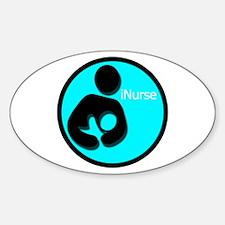 iNurse Sticker (Oval)