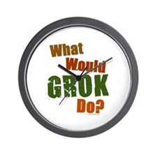 What would Grok do, color Wall Clock