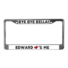 Edward <3's Me License Plate Frame