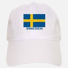 Swedish Flag (w/title) Baseball Baseball Cap