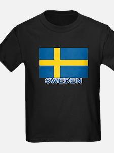 Swedish Flag (w/title) T