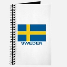 Swedish Flag (w/title) Journal