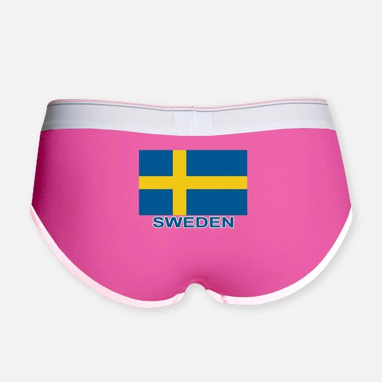 Swedish Flag (w/title) Women's Boy Brief