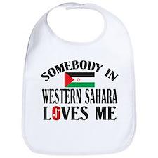 Somebody In Western Sahara Bib