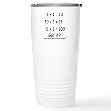 Binary Humor Travel Mug